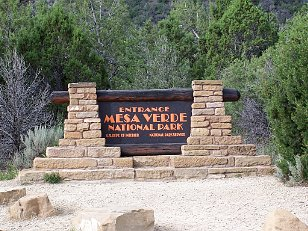 Mesa Verde NP Some of the sites, cliff dwellings, just got to wonder how...